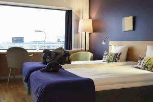 Official hotel: Scandic Alvik